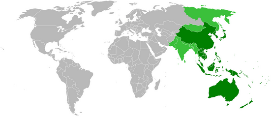 圖片來源:http://commons.wikimedia.org/wiki/File:Asia-Pacific_map1.png#mediaviewer/File:Asia-Pacific_map1.png