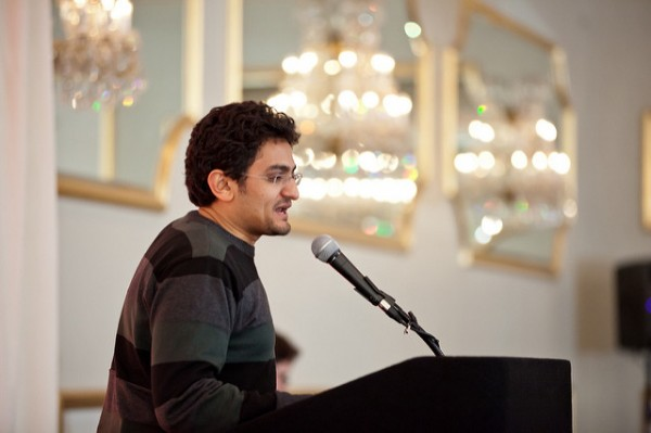 Wael Ghonim(攝於2012年2月4日)圖片來源:https://www.flickr.com/photos/64782942@N06/sets/72157629357287665/
