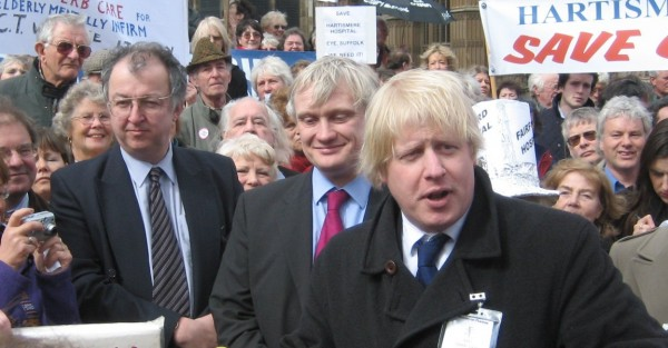脫歐大將Boris Johnson,圖片來源:https://www.wikiwand.com/en/Boris_Johnson