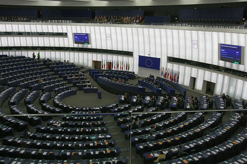 歐洲議會一景,圖片來源:https://www.wikiwand.com/en/European_Union